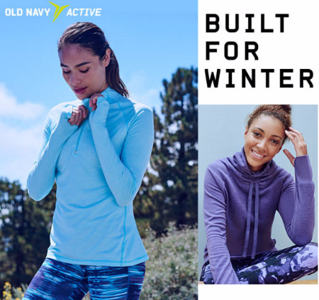 Old Navy Active Go-Warm Brings The Heat