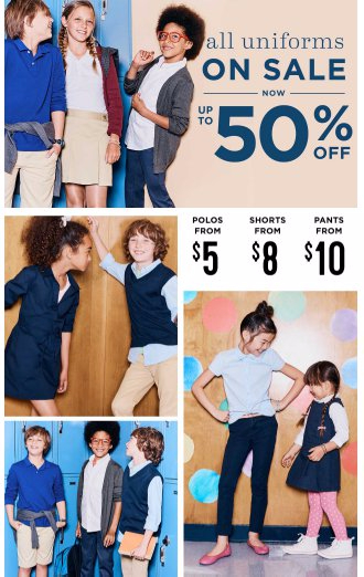 All Uniforms on Sale up to 50% Off