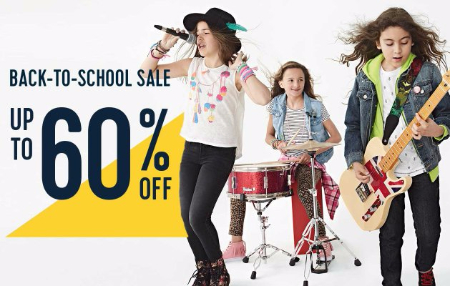Back-to-School Sale up to 60% Off