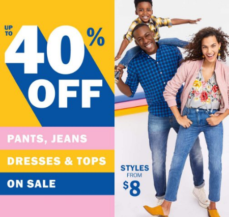 2e98e18b22cc4 Bayshore Town Center ::: Up to 40% Off Pants, Jeans, Dresses & Tops ...