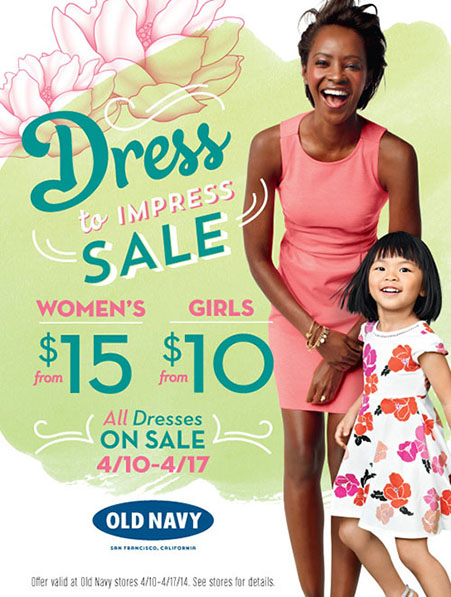 Dress to Impress at Old Navy