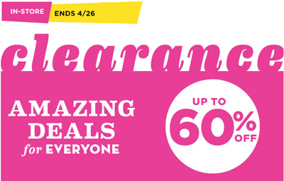 Clearance: Up to 60% Off at OLD NAVY