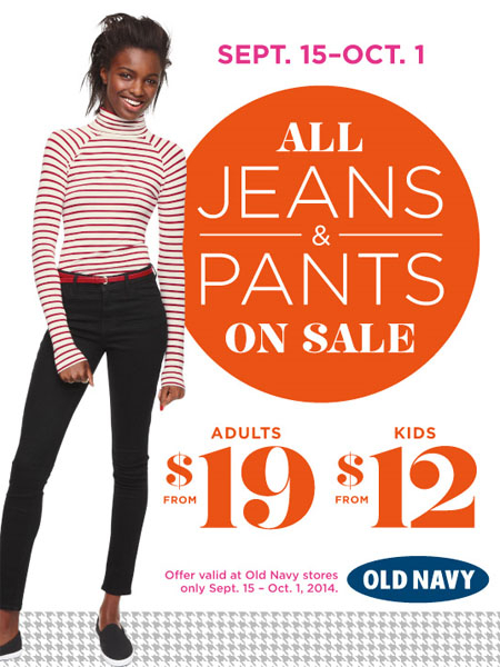 All Jeans & Pants on Sale at Old Navy