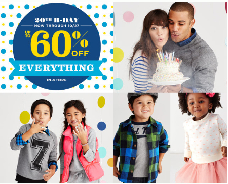 Up to 60% Off Everything