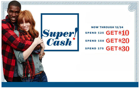 Get $10 For Every $25 You Spend at Old Navy