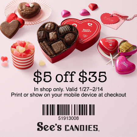 Sees Candy Valentine Gifts Valentine Gift Ideas
