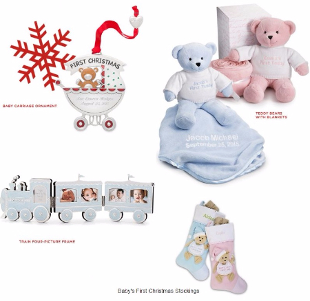 Great Gifts for Baby's First Christmas