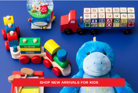 Shop New Arrivals for Kids