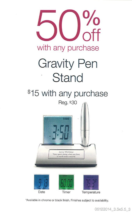 Gravity Pen Stand $15 with any purchase! at Things Remembered