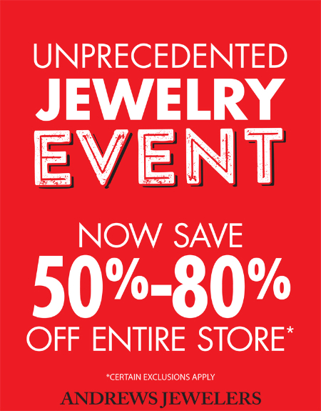 Unprecedented Jewelry Event at Rogers Jewelers