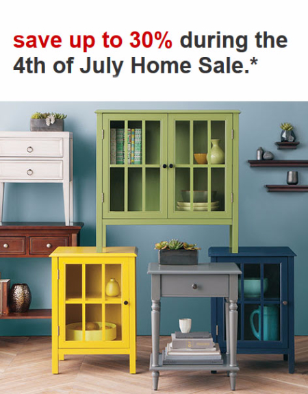 Up to 30% Off 4th of July Home Sale at Target