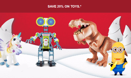 20% Off Toys