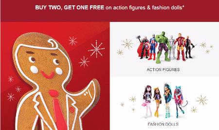 B2G1 Free Action Figures & Fashion Dolls