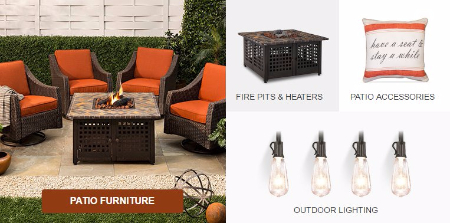 20% Off Fire Pits & Outdoor Lighting