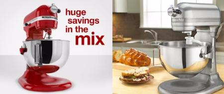 55% Off KitchenAid Stand Mixers