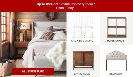 Target | Up To 30% Off Furniture
