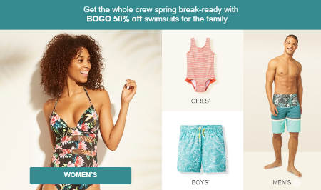 56e80db5df Bassett Place ::: BOGO 50% Off Swimsuits ::: Target