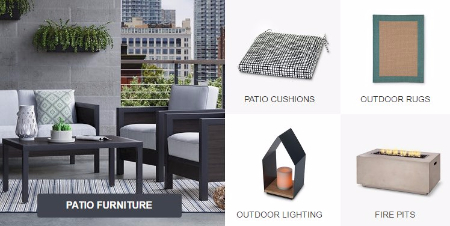 Up to 25% Off Patio Items