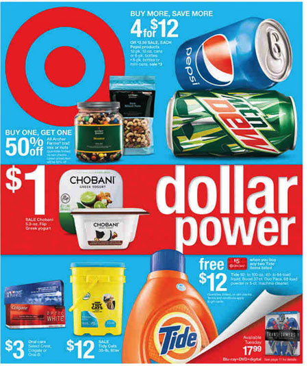 Weekly Specials at Target