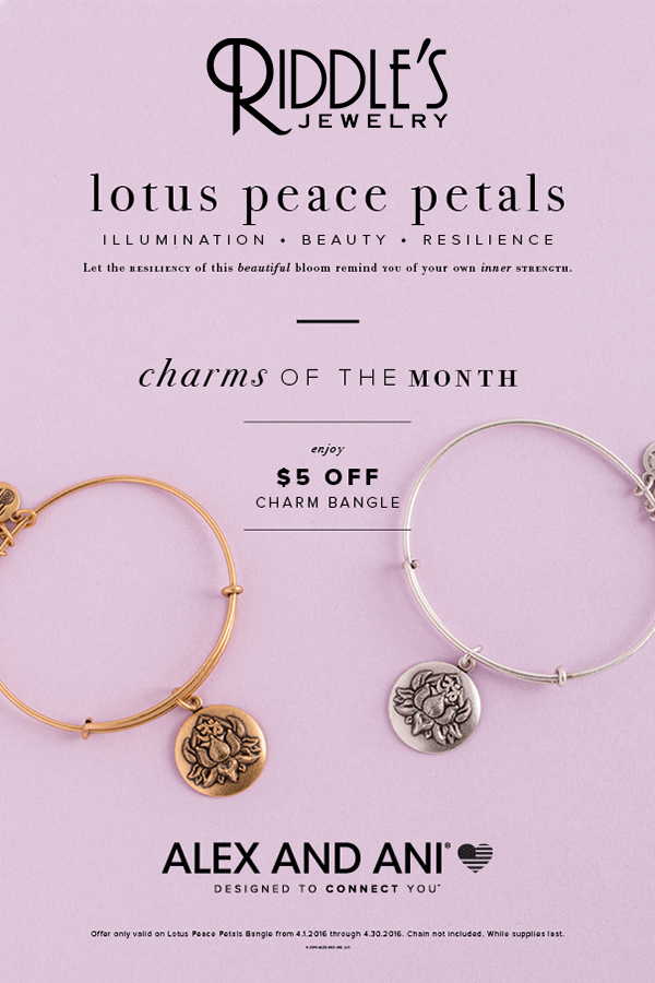 Alex and Ani Charm of the month