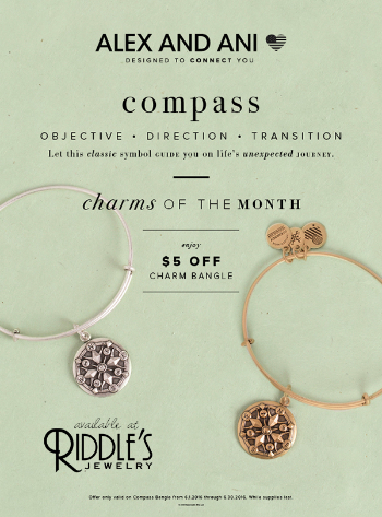 $5 OFF Alex and Ani charm of the month