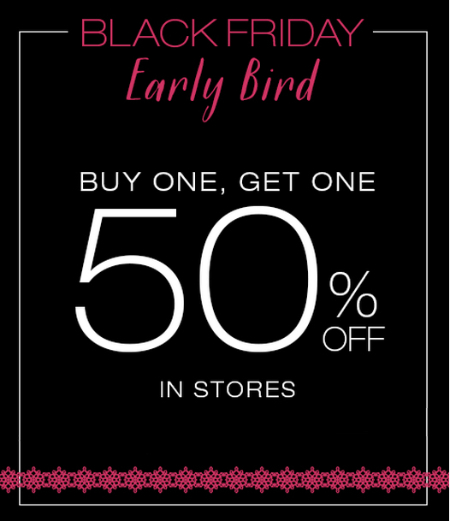 BOGO 50% Off Black Friday Sale at maurices