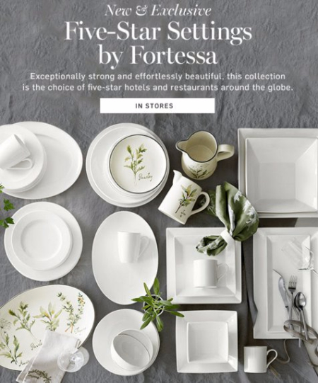 Fortessa for Every Setting