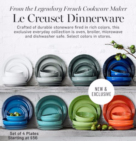 Introducing Le Creuset Dinnerware