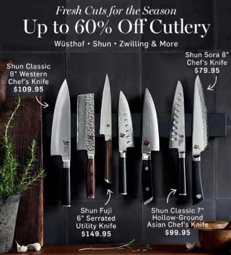 Up to 60% Off Cutlery