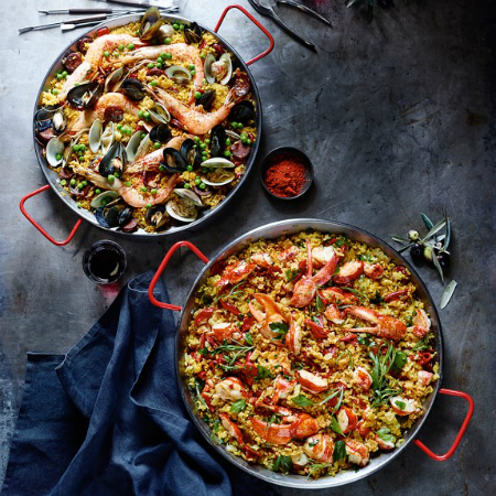 Date Night: Dinner for Two: Jose Andres' Classic Paella