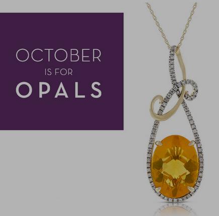 Celebrate October With Opal at Ben Bridge Jeweler