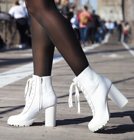 The New Winter White from Steve Madden