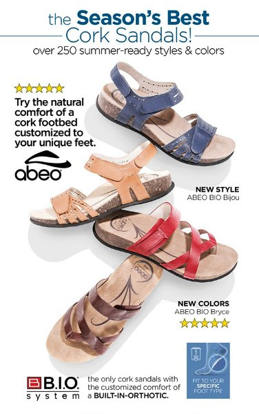 7be18c961 Bell Tower Shops     Save 25% on Men s ABEO Sandals     Walking ...