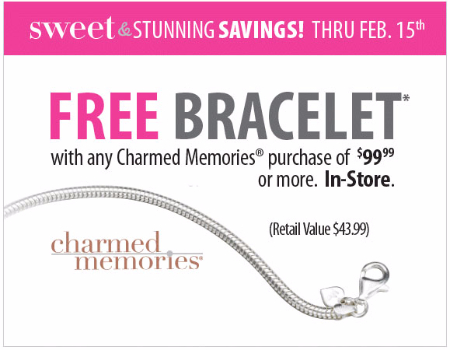 Free Bracelet With $99.99 or More