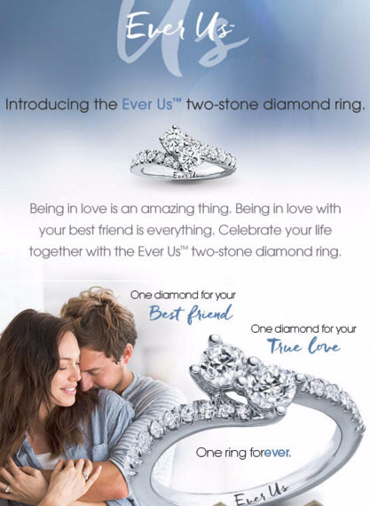 Introducing The Ever Us Two-stone Diamond Ring