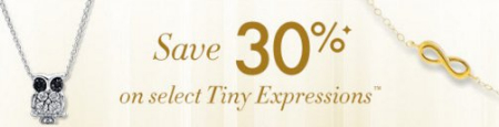 Save 30% on Tiny Expressions