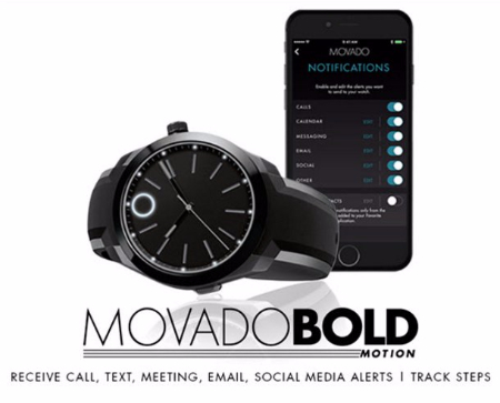 Introducing the Movado Motion Smart Watch