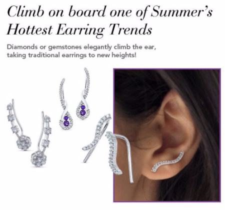 One of Summer's Hottest Earring Trends