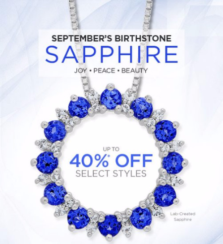 Save up to 40% on Sapphire
