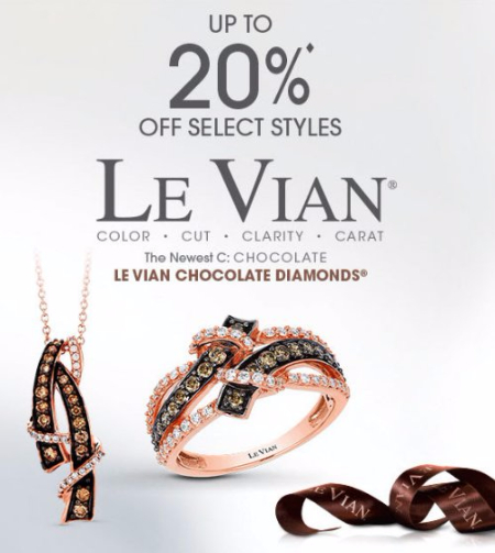 Up to 20% Off Select Le Vian