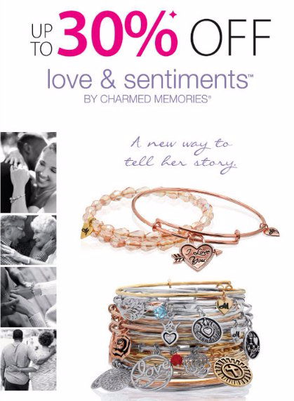 Up to 30% Off Charmed Memories Bangle Bracelets