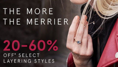 Phillipsburg Mall ::: 20-60% Off Select Layering Styles ::: Kay Jewelers