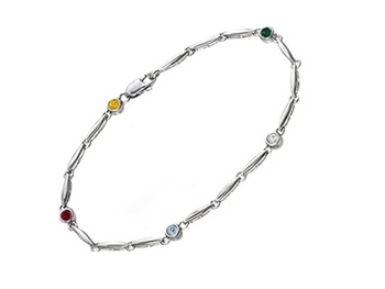 Personalized Anklets for Summer at Kay Jewelers