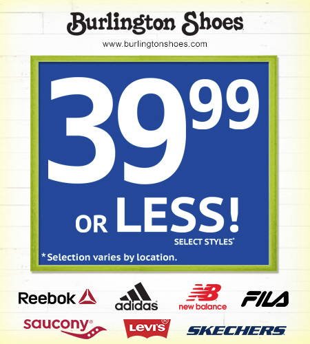 Top Athletic Brands for 39.99 or Less!