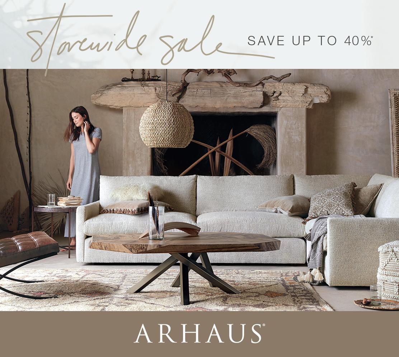 Ordinaire Arhaus Furniture | Store Wide Sale