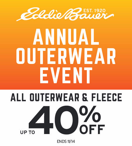 Annual Outerwear Event Up To 40% Off