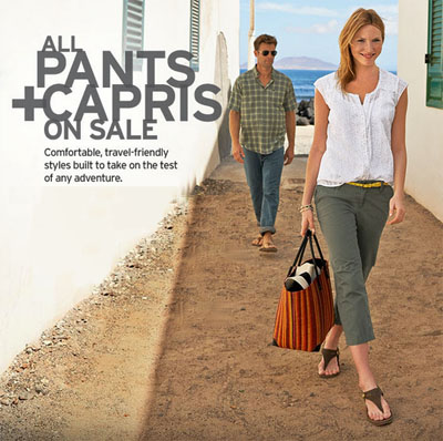 All Pants & Capris On Sale Now at Eddie Bauer