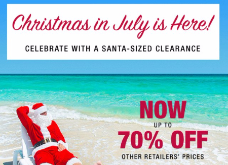 Shop Clearance up to 70% Off