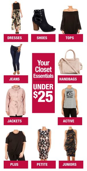 Burlington | Your Closet Essentials Under $25