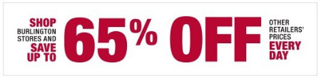 Save up to 65% Off Other Retailer's Prices